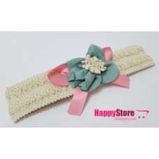 Kawaii Flowery Ribbon Headband