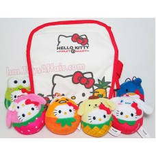 Hello Kitty & Sanrio Characters Fruity Troop Collector's Kit